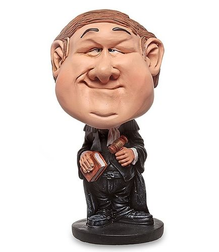 Les Alpes 010 10001 lawyer 14 cm Bobblehead synthetic resin Funny Decoration Series Jobs