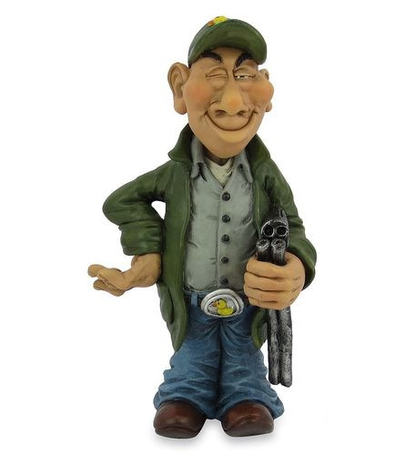 Les Alpes 014 12026 hunter 15 cm synthetic resin Funny Decoration Series Jobs