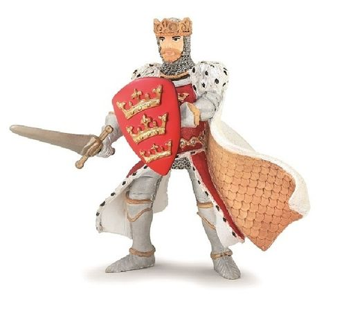 Papo 39950 King Arthur 8 cm Knight and Castle