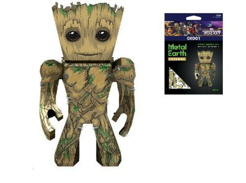 Metal Earth 5006 GotG Groot Guardians of the Galaxy 3D-Metall-Construction original