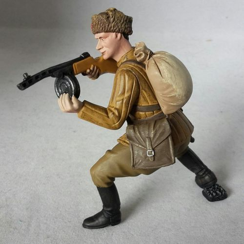 Tissotoys 12703 russian soldier 9 cm Game Figures