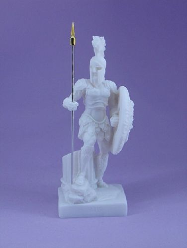 Maska 3-773W Ares 18 cm alabaster white series god