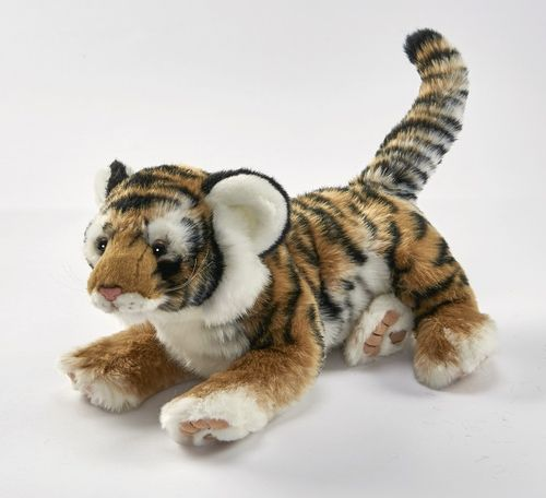 Anima 1924 tiger (brown) lying 35 cm soft-toy