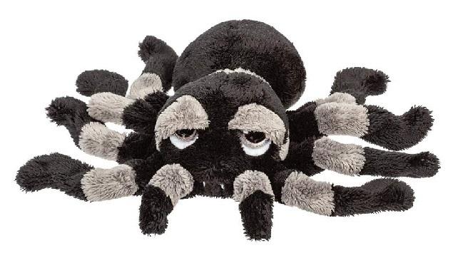 Tarantula Stuffed Animal, Suki 14446 Tarantula Spider Grey Black 22 Cm Soft Toy Peepers Li L