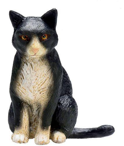 weiß 7 cm Bauernhof Mojo 387200 Katze schwarz