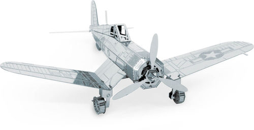 Metal Earth 1035 F4U Corsair 3D-Metall-Bausatz Silver-Edition