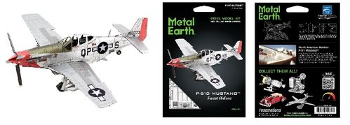 Metal Earth 1180 P-51D Mustang Sweet Arlene 3D-Metall-Bausatz