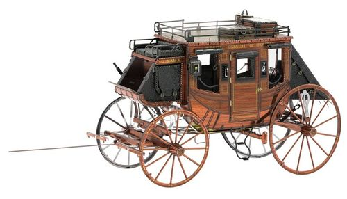 Metal Earth 1189 Wild West Stage Coach 3D-Metall-Construction