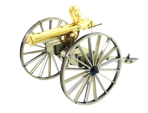 Metal Earth 1188 Wild West Gatling 3D-Metall-Construction