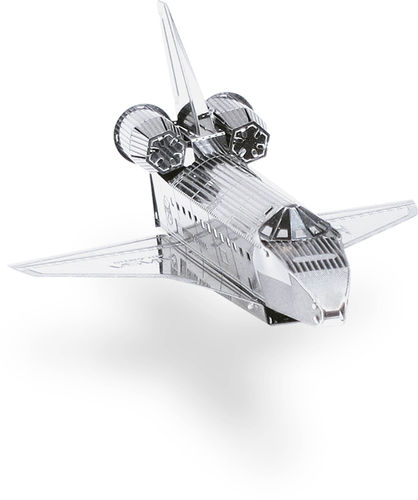 Metal Earth 1015 Space Shuttle Atlantis 3D-Metall-Bausatz Silver-Edition