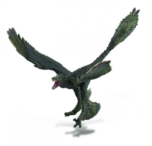 Collecta 88875 Microraptor 16 cm 1: 6 deluxe dinosaurs