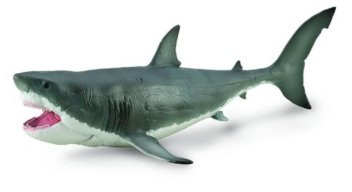 Collecta 88887 Megalodon with movable jaw 28 cm 1:40 deluxe dinosaur