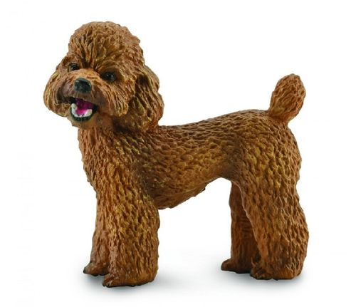Collecta 88880 poodle 4 cm dogs and cats