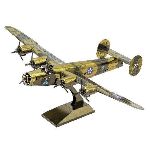 Metal Earth 1179 B-24 Liberator Bomber  3D-Metall-Bausatz original Metal Earth