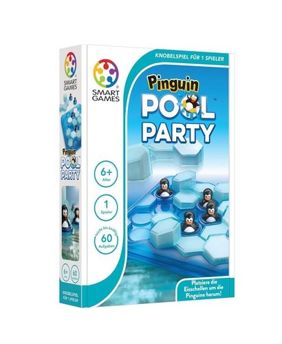 Smart Games SG 431 Pinguin Pool Party 1 Spieler Brettspiel