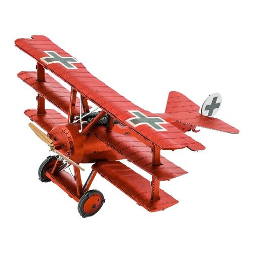Metal Earth 1210 Tri-Wing Fokker Roter Baron 3D-Metall Bausatz original