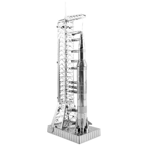 Metal Earth 1167 Apollo Saturn V mit Startramp Metal Earth 3D-Metall-Bausatz