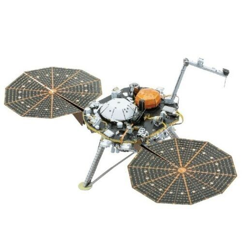 Metal Earth 1193 InSight Mars Lander 3D-Metall-Bausatz original Metal Earth