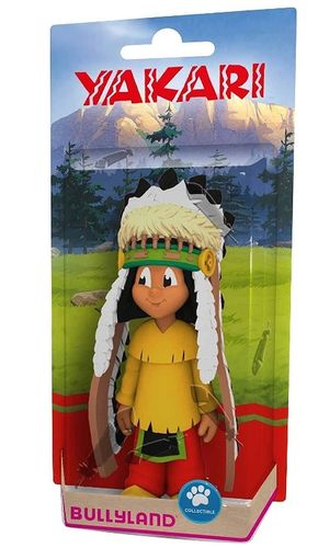 Bullyland 43364 Yakari with feather headdress 11 cm movie characters